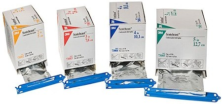 Packet sealing clips for healthcare industry